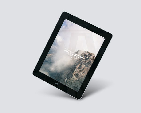 ipad 2 air perspective mockup graphictwister 1