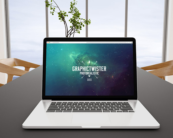 macbook pro office mockup graphictwister 1